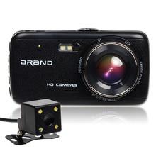New 4 0 inch Mini font b Car b font Camera 2 camera Full HD 1080P