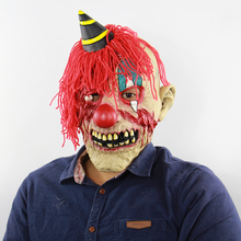 Halloween Man Maske Clown Horror Mask Party Haunted Dress Mascaras Festive Masque Accessories Bloody Scary Head Masks