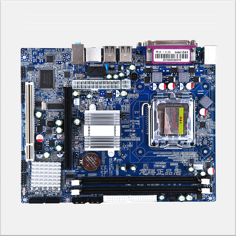 New Desktop Motherboard G41-775 DDR3 sound card NIC fully integrated with dual-core quad-core free shipping