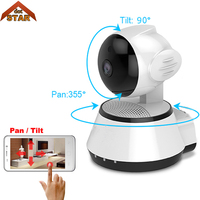 Mini IP Camera 720P Wi Fi Wireless Surveillance Camera WiFi Baby Monitor Two Way Audio P2P