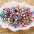 Free shipping! AAA 5301 Mixed color 3mm 4mm 5mm 6mm 8mm  Crystal Glass Bicone Beads.