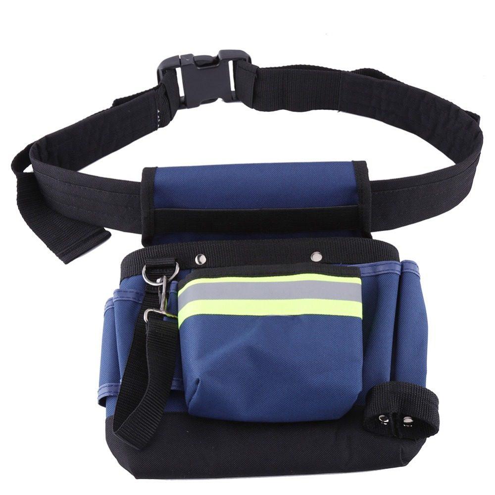 724f69e0e20 600D Oxford sac à outils ceinture taille sac poche taille poche travail  extérieur outils à main