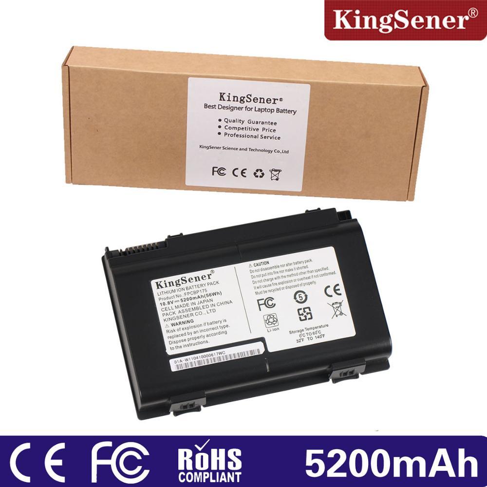 KingSener 10.8V 56WH Battery FPCBP175 for Fujitsu LifeBook E780 AH550 AH530 A540 A550 A6210 A6220 A6230 E8410 E8420  FPCBP176 fujitsu siemens v 5505