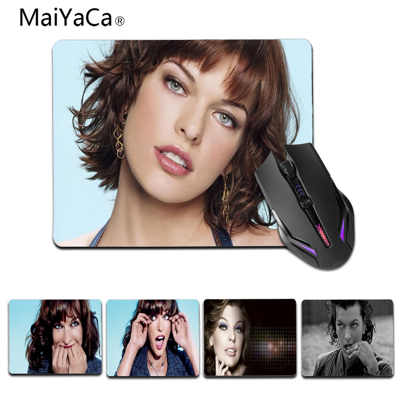 MaiYaCa My Favorite milla jovovich portrait Laptop Gaming Mice Mousepad Size for 25X29cm Gaming Mousepads