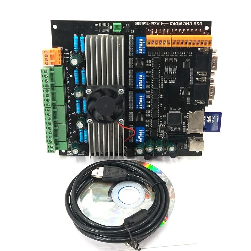 USB MDK2 CNC 4 axis tb6560 Stepper Motor Driver Board 3.5A ...  Axis Tb Wiring Diagram on