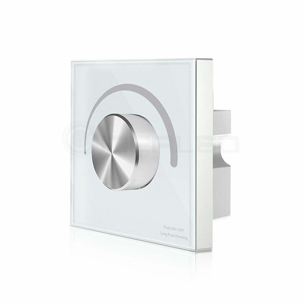 Dimmer prekidač osjetljiv na dodir LED kontroler zakretanje Zidni - Različiti rasvjetni pribor - Foto 5