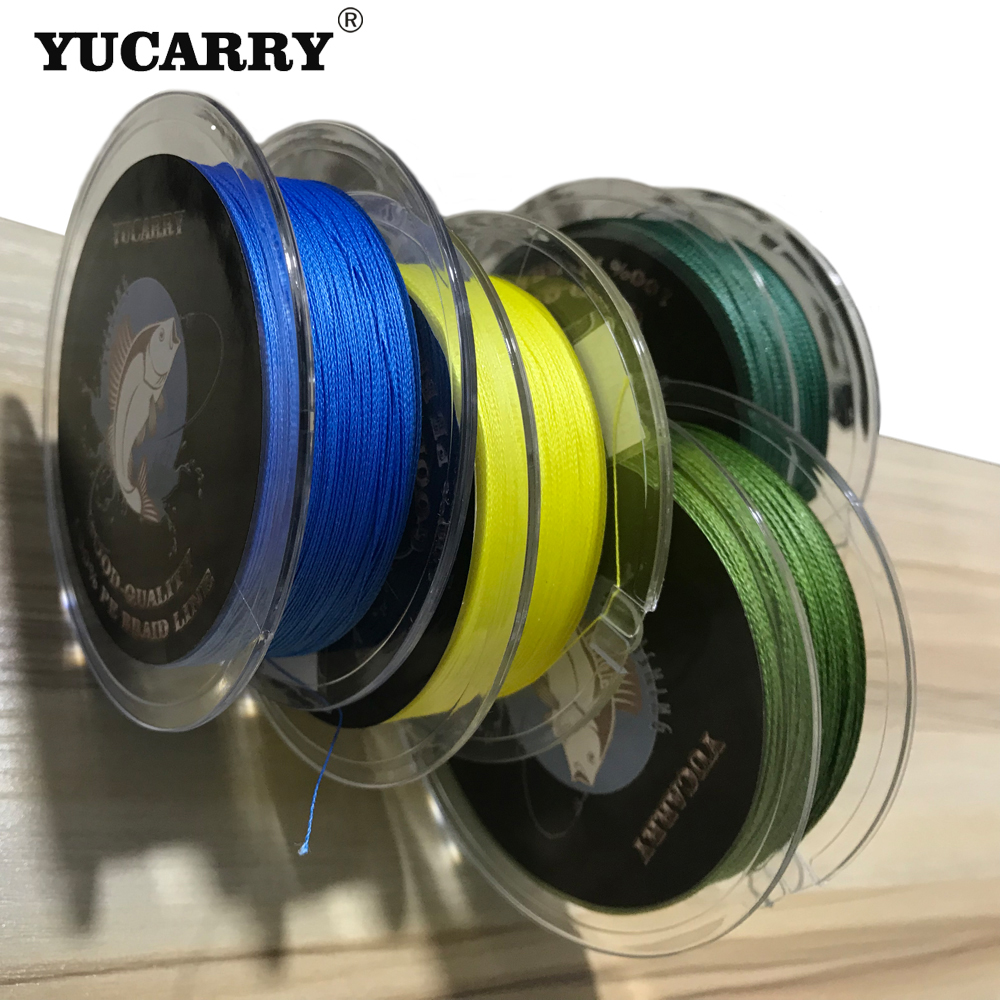 YUCARRY 100m Lead Hook Line Fishing Line Braided Camouflage Carp Fish Line Hair Rigs Lake River Fishing Tackle Fish Accessories