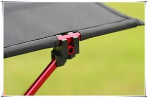 Image 4 - 1шт Открытый складной столик Ультра легкий алюминиевый сплав Структура Портативный кемпинга стол мебель Складная стол для пикника