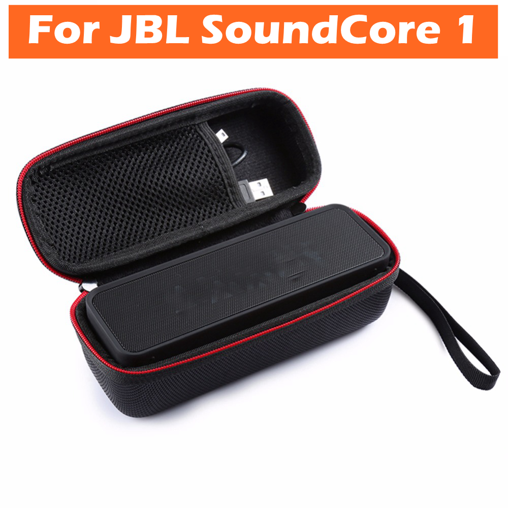 Speaker Protective Case Cover for ANKER SoundCore 1 Dual-Driver Bluetooth Speakers SoundBox Storage Portable Bag Box Pouch Case