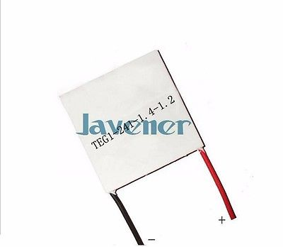 Thermoelectric Generator TEG1-241-1.4-1.2 Seebeck Power Generation Element Refrigeration Module 40 40mm thermoelectric power generator high temperature generation element peltier module teg high temperature 150 degree white