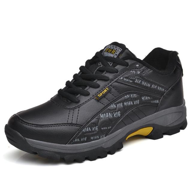 2019 erkek ayakkabısı Rahat rahat ayakkabılar Erkekler Açık Moda Nefes Erkek Kar Botları Eğitmenler Zapatillas Zapatos Hombre