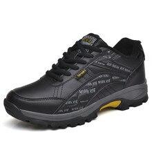2019 Men Shoes Comfortable Casual Shoes Men Outdoor Fashion Breathable For Men Snow Boots Trainers Zapatillas Zapatos Hombre