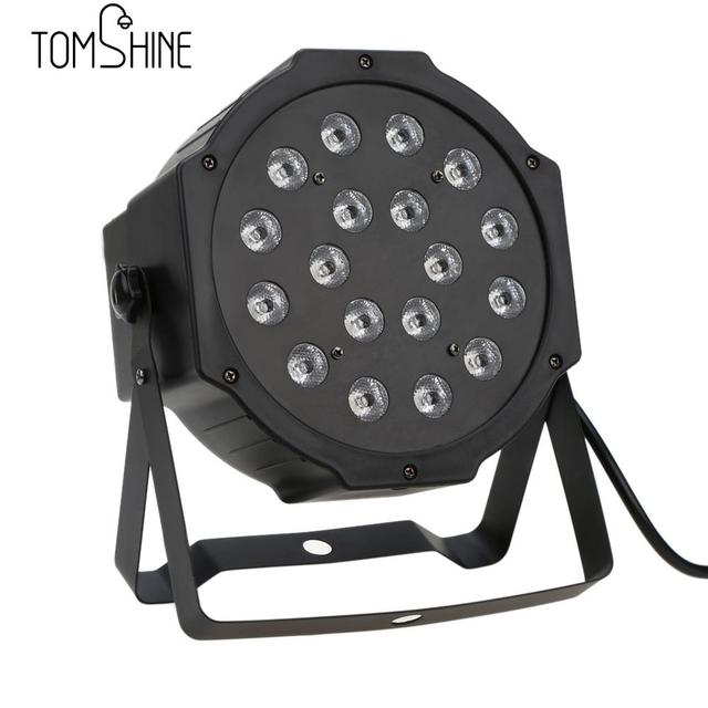 Hi-Quality DMX512 RGB LED Stage Washing Effect Light DJ Disco Light  Professional Dj Dmx 7Channel Party Disco Show Stage Light