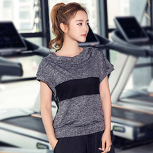 Breathable Sportswear Women T Shirt Fitness Sport Suit Yoga Top Running Shirt