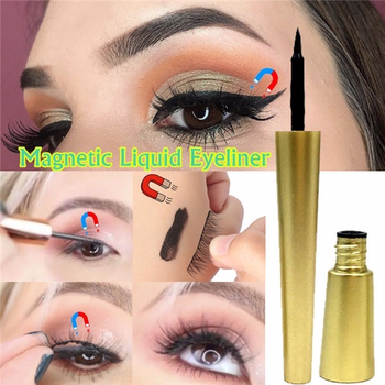 1 PC Magnetic Gel Eyeliner for Magnets Eyelashes Waterproof Quick Dry Long Lasting Liquid Black Eye Liner Makeup Tools Cosmetic