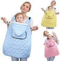 Baby Backpack Carrier Cover Cloak Winter Outdoor Travel Cloak Rainproof Windproof Cover Waterproof Warm Cape Baby