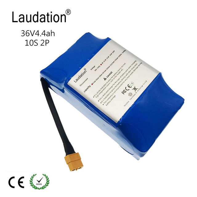 """new Balancing Scooter 36V 4.4ah High Consumption Lithium Battery 2 Wheels Electric Scooter Battery for Self-Balancing Fit 6.5 """"7"""