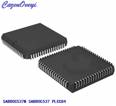 4 adet/grup SAB80C537-N SAB80C537N SAB80C537 PLCC844 adet/grup SAB80C537-N SAB80C537N SAB80C537 PLCC84