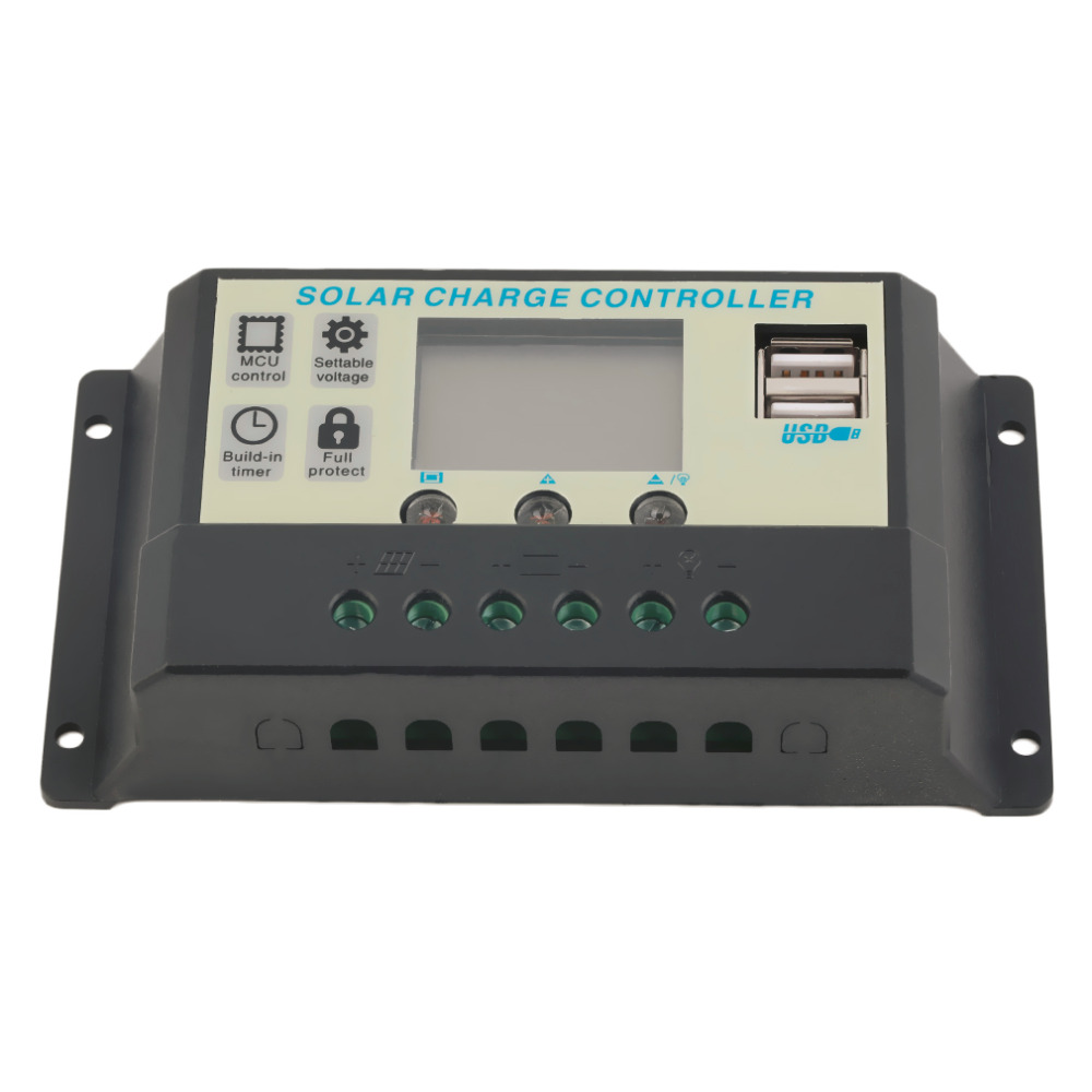 Hot Selling! 10A 12V 24V Solar Panels Battery Charge Controller 10Amps lamp Regulator ,Newest and Wholesale 2016 Drop Shipping