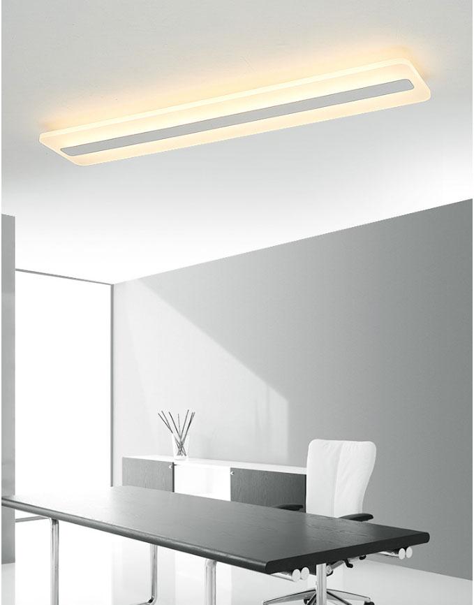 Lumière acrylique de lustre de plafond moderne à LEDs pour la lampe montée par Surface d'éclairage de lustre de salon de lit