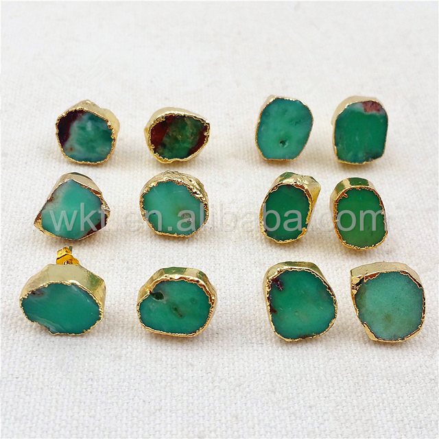 tradesy green stone earring dior earrings i
