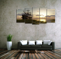 Hot Selling Canvas Painting Of Prints For Dinner Room Or Kitchen Coffe Tea Drinks Such Delicious