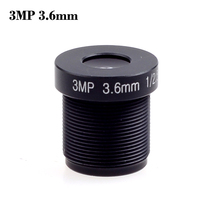 Wholesale cctv lens 3.6mm 3MP 3.0Megpixel M12  1/2.5″ 1080P MTV  lens IR HD  Fixed Iris for cctv camera security camera