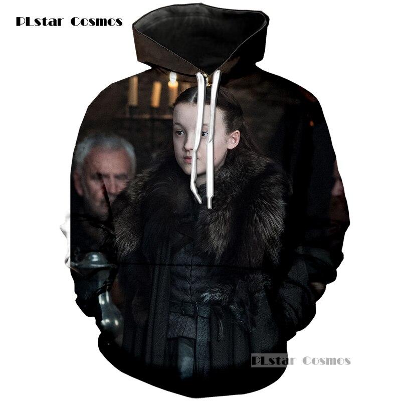 PLstar Cosmos brand Hot TV series Game of Thrones Hoodies 3D Printed Men/Women Casual Neutral hoodie Spring Autumn Sweatshirts
