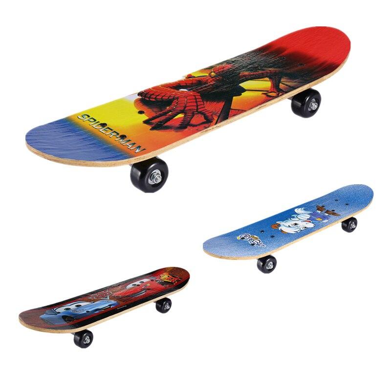 Impression recto-verso planche à roulettes pour enfants skate scooter divertissement planche à roulettes un joli modèle de dessin animé cadeau enfant