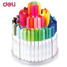 Лучшие Балык акварель ручки 100 цветов/коробка арт канцелярские принадлежности цвет воды маркеры легко мыть Рисунок Живопись маркером