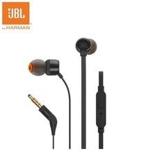 JBL T110 In Ear Go Oortelefoon Afstandsbediening Met Microfoon Sport Muziek Pure Bass Sound Headset Voor leagoo s9 iPhone Smartphone Draagbare