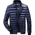 White Duck Down Jacket Winter AFS JEEP Hombres de Pie Cuello de Ropa de La Marca de Moda de Invierno de Down Parka Coat para Los Hombres 140