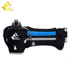 Женский и мужской ремень для бега Free Knight, Водонепроницаемая спортивная сумка для бега с бутылкой для воды