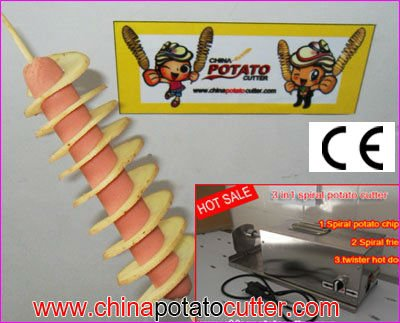 528e 3 New Curly Fry Cutter Drill Cheap Ribbon French Frie