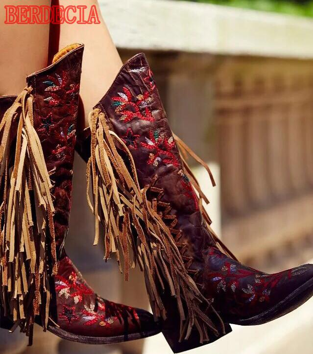 Online Get Cheap Womens Red Cowboy Boots -Aliexpress.com | Alibaba ...