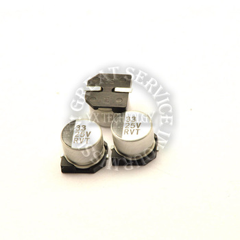 25V 33UF 6 * 5MM SMD aluminum electrolytic capacitors (50PCS/LOT)