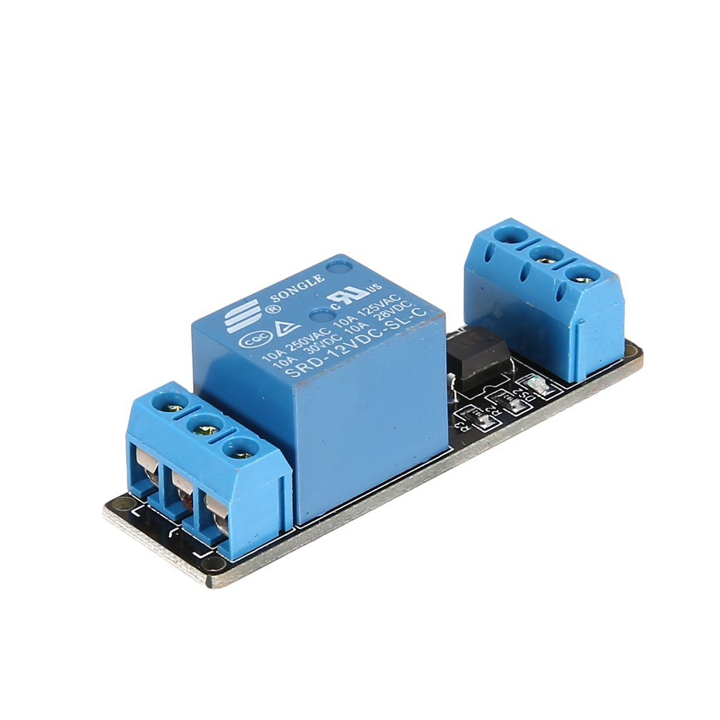 12V 1 Channel Relay Module Interface Board Low Level Trigger Optocoupler For Arduino SCM PLC Smart Home Remote Control Switch