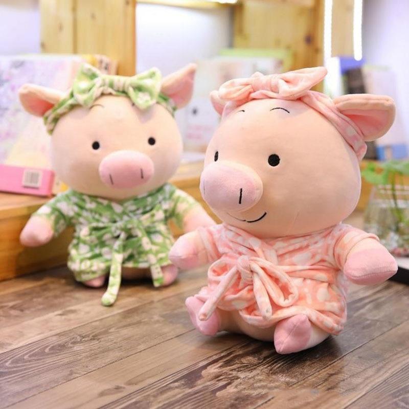Dolls & Stuffed Toys Stuffed & Plush Animals 1 Pc 2019new Fashion Lovers Pajamas Pig Plush Toy Stuffed Animal Cartoon Cute Pig Kids Children Gift