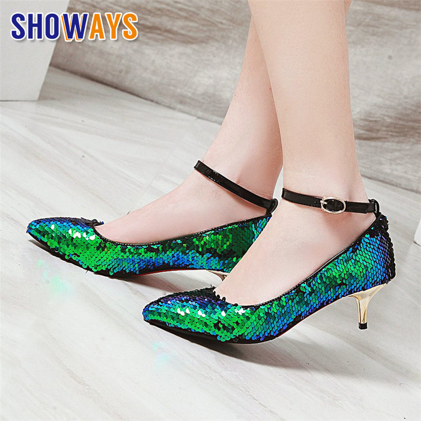 Patent Leather White Red Black High Heels Shoes Bride Bling Sequined Ankle Strap Pumps Dress Shoes,Red,10.5