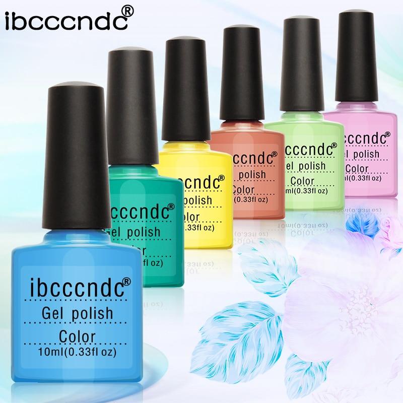 Ibcccndc New Pro Nail Gel Set Nail Art Kit with Led Lamp Soak off ...