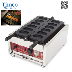 Egg Burning Maker Electric 110v 220v 12 Pieces Poffertjes Grill Dutch Waffle Maker Mini Pancake Machine
