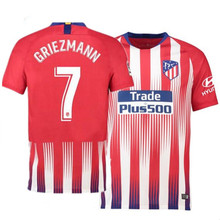 18 19 Atletico Madrides soccer jersey 2019 Adult shirt camisetas CORREA F.  TORRES GRIEZMANN KOKEman t-shirt LUCAS football shirt 4ea12ff86
