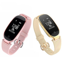 Feminine fashions Bluetooth good watch style ladies's watch women waterproof Android good look ahead to Android IOS coronary heart charge