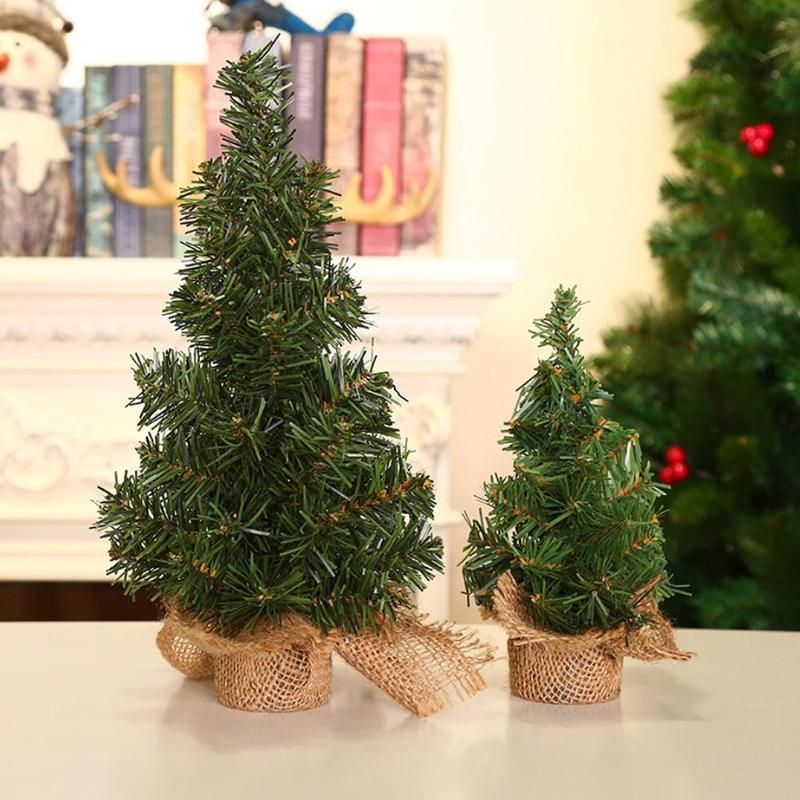 DIY Mini Christmas Tree Small Pine Tree Trees Placed In
