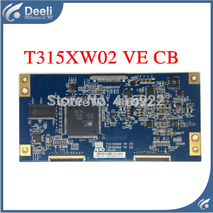 все цены на  100% New original for T315XW02 VE T260XW02 VK 06A90-11 logic board on sale  онлайн