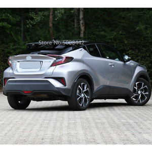Image 4 - For Toyota C HR CHR 2017 2018 2019 2020 Car Cover Outside Stainless Steel Rear Bumper Tailgate Pedal Strip Trim Plate Threshold