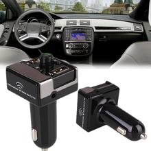 Portátil Mini USB Auto MP3 Player TF Tarjeta AUX Transmisor FM Bluetooth Manos Libres Inalámbrico de Carga