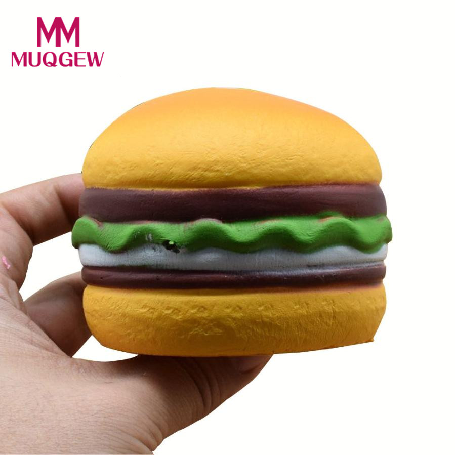 Novelty & Gag Toys Drop Shipping Squishy Heart Hamburger Squishy Scented Slow Rising Exquisite Kid Soft Toy Anti Stress Squishy Toy Slow Rising Toy Back To Search Resultstoys & Hobbies