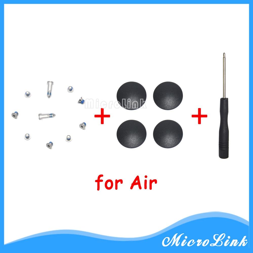 Genuine New Bottom Case Screws+feet Foot Set+tools Fits For Macbook Air 11 13 A1370 A1465 A1369 A1466 Computer Cables & Connectors