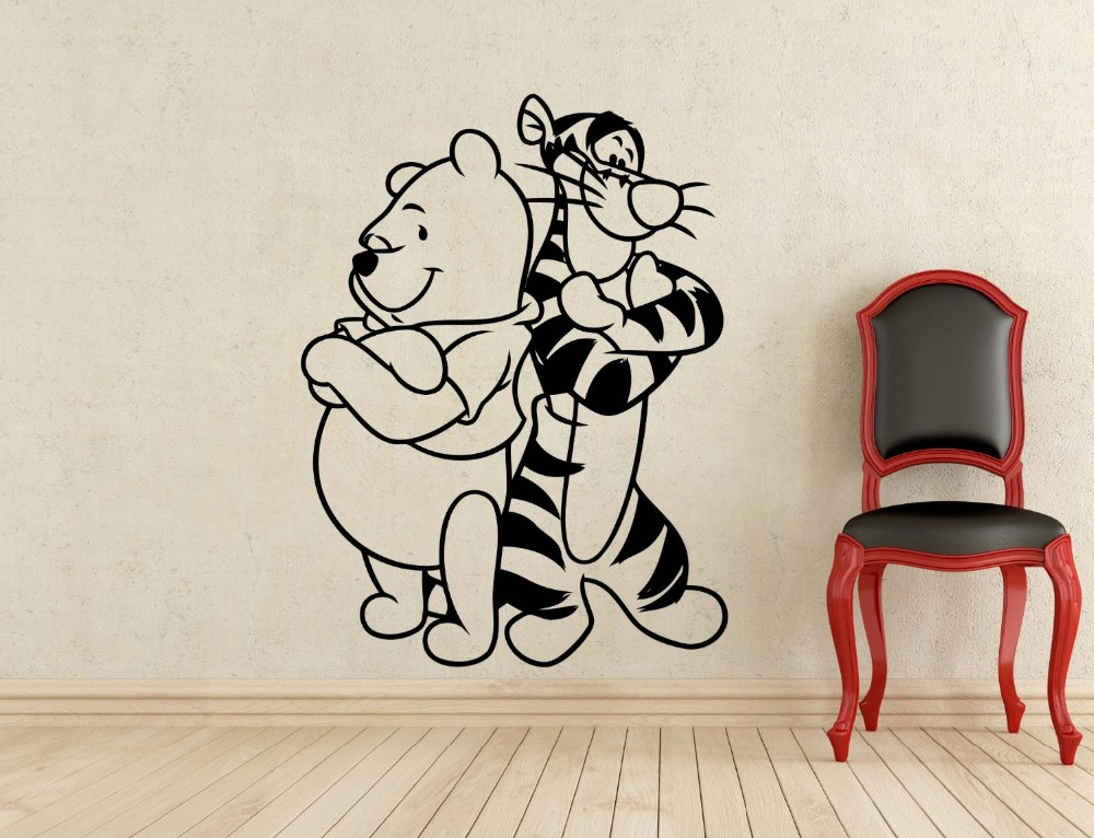 Winnie the pooh tigger vinyl wall stickers baby home - Wall stickers camerette ...